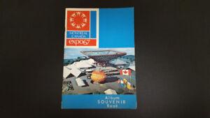 Album souvenir officiel expo 67 Montréal