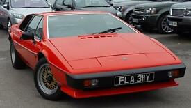 1982 LOTUS ESPRIT S3 1982 HAS BEEN SUBJECT TO A RESTORATION ONE OF THE BES