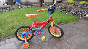 Boys Bike 14 inch with Training Wheels