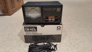 Daiwa CN-103L VHF/UHF RF Wattmeter