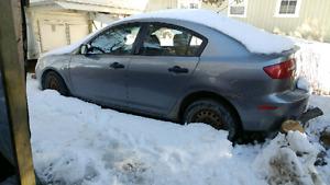 Mazda 3 parts car has winter tires NEW PRICE
