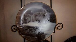 "Wolf Art, Bradford Exchange ""Collectable Fine Porcelain Plates Kitchener / Waterloo Kitchener Area image 4"