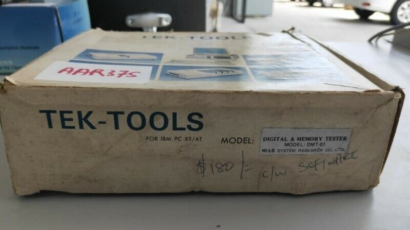 Tek-tools digital and memory tester for IBM PC XT/AT (AAR37S) for sale @ $150 each