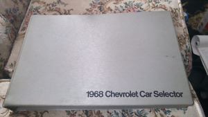 1968 gm dealers selector