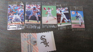 Humpty Dumpy MLB potato cards(5),1 Cracker Jack