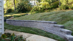 Retaining wall/ Walkway cleaning