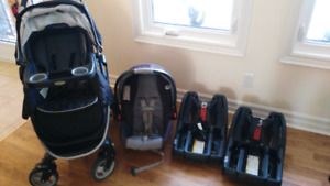 Graco click connect modes travel system