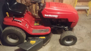 TRADE FOR SLED.......LAWN TRACTOR, GENERATOR & CHAINSAW