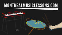 Drum Lessons, Piano Lessons, Music Software Lessons