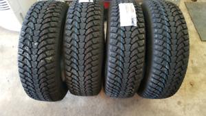 4 - new 195 65 R 15 antares grip 60 snow tires
