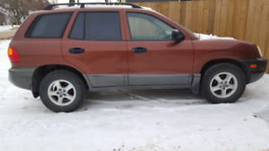 2003 Sante Feb HYUNDAI Saftied