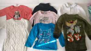 Lot of 2T and 3T girls clothes