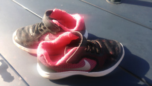 Toddler size 11 Nike sneakers