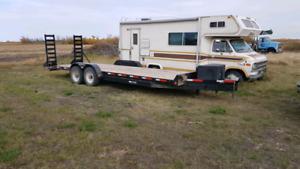 24ft car/ construction trailer