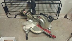 """Craftsman 10"""" mitre compound saw with stand"""