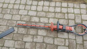 Black and Decker hedge trimmer