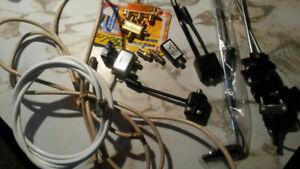 tv antenna, splitters