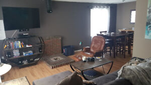 3 bed upstairs of house in black mountain