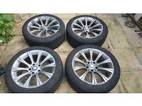 """BMW 18"""" inch alloy wheels m sport/m3"""