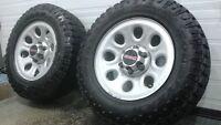 2012 Gmc/Chev 6 bolt wheels with Goodyear Duratracs