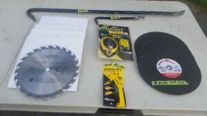NEW CAN PRO 10 INCH 24 TOOTH TABLE SAW & MITER SAW BLADES