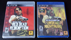 Red Dead Redemption + Undead Nightmare PS3 Games
