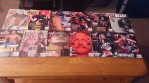 WWF/WWE Magazine Collections