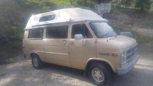 1984 GMC Vandura Camper Van