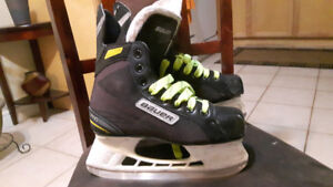 Hockey skates in a good condition, size 4