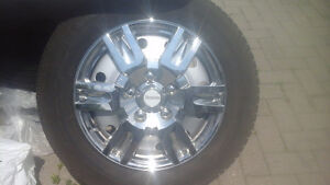 Set of 4 michelin xice with rims