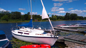 sailboat with trailer, new pictures