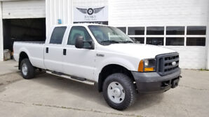2007 FORD F-350 CREW CAB LONG BOX 4X4 ONLY 117K!