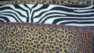 Jungle theme area rug Kitchener / Waterloo Kitchener Area image 1