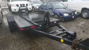 Tilt trailer for bobcat. 7 tonne.