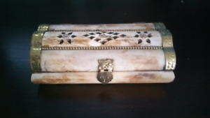 Incense  burner chest with holder and incense