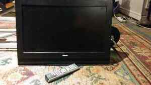 "Toshiba 23"" TV with remote"