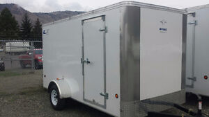 2017 SOUTHLAND ENCLOSED CARGO TRAILER  6X12 W/RAMP
