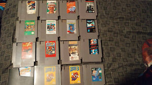 NES,SNES, and 64 games and controllers
