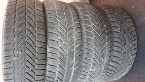 195/60/R15 - Goodyear winter tires - set of 4