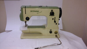 Bernina Record 530 with case and cabinet Windsor Region Ontario image 2