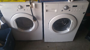 LG washer and dryer perfect condition