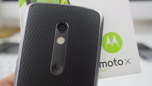 Moto x play Motorola black