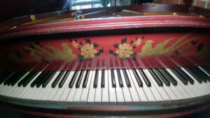 Professionally Assessed Gerhard Heintzman Baby Grand Art Piano