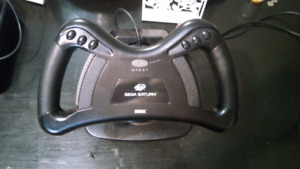 Official Sega Saturn steering wheel