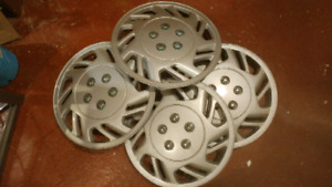 "14"" plastic wheel covers to hide those ugly winter rims!"