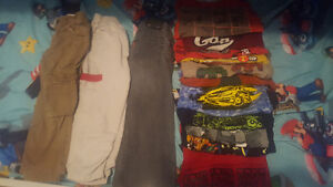 LOT of boys clothes Size 4