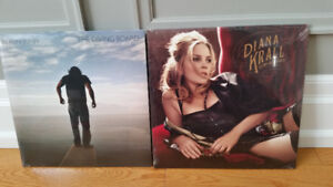 Brand New Sealed Diana Krall and Elton John Vinyl Records (LPS)