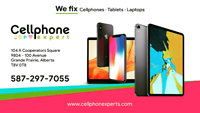 We fix cellphones/tablet fast and cheap with best service in GP