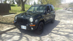 2004 Jeep Liberty Limited SUV, Crossover AS-IS
