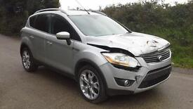 2010 Ford Kuga 2.0TDCi Titanium DAMAGED SPARES OR REPAIR SALVAGE